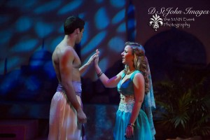 Lindsey French as Marsinah and Senhica Klee as Caliph. Photo credit Darlene St. John Photography