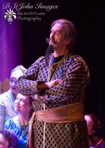 Rob Hoch as Wazir. Photo credit Darlene St. John Photography