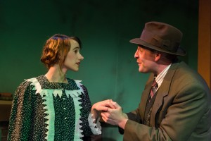 Elizabeth Kirchmeier (Mary Boyle) and Troy Matthew Lescher (Jerry Devine). Photocourtesy of William A. Cotton.
